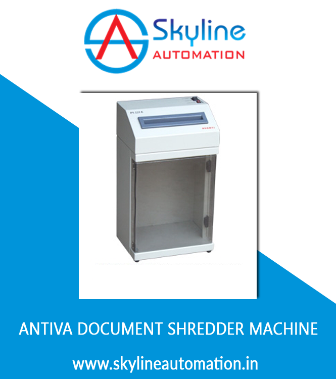 antiva documents shredder machine