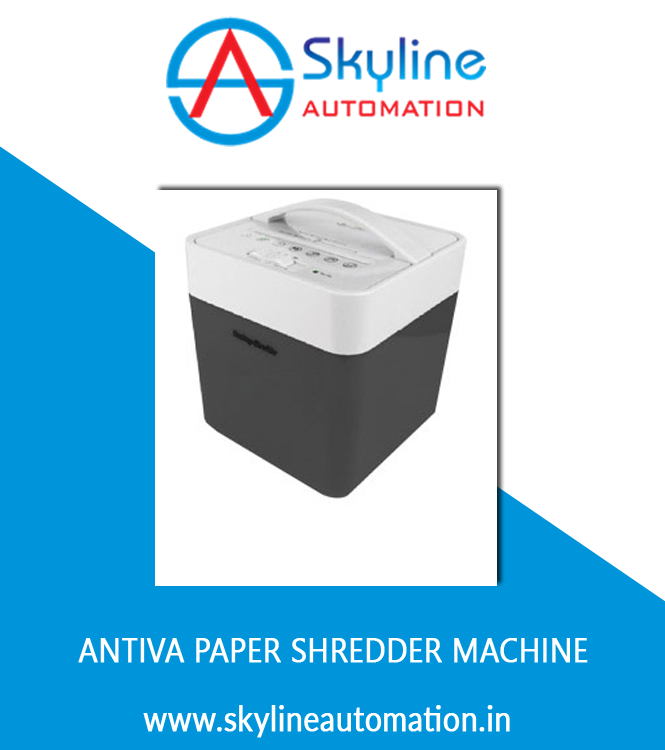 Antiva Papers Shredder Machine