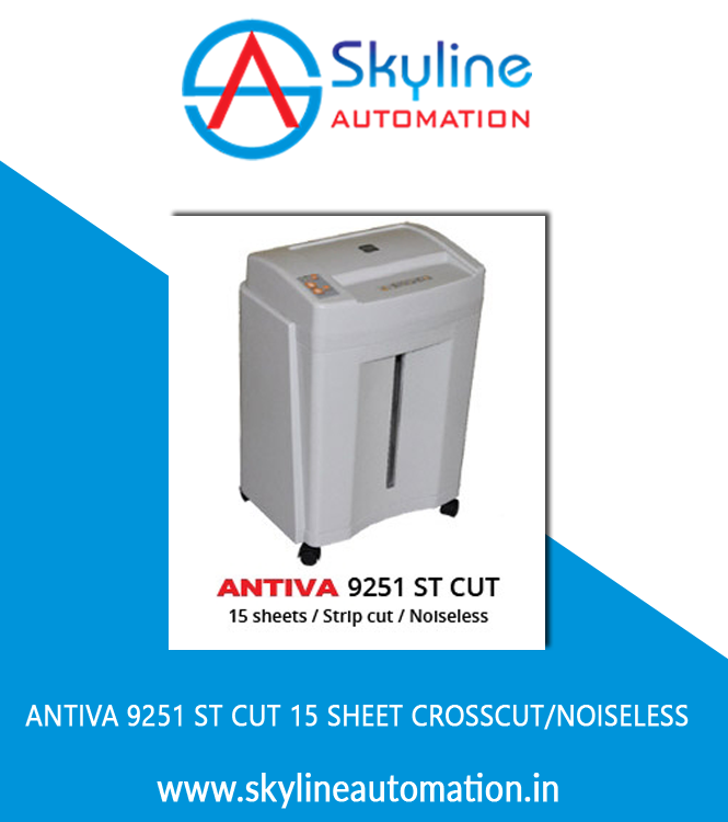 Antiva 9251 St Cut 15 Sheet Crosscut Noise Less