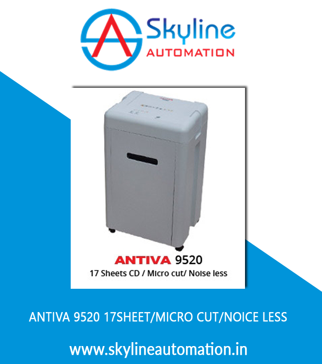Antiva 9520 17sheet Micro Cut Noice Less