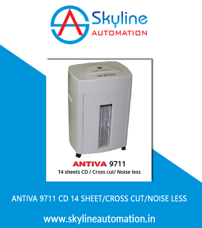 Antiva 9711 CD 14 Sheet Cross Cut Noise Less