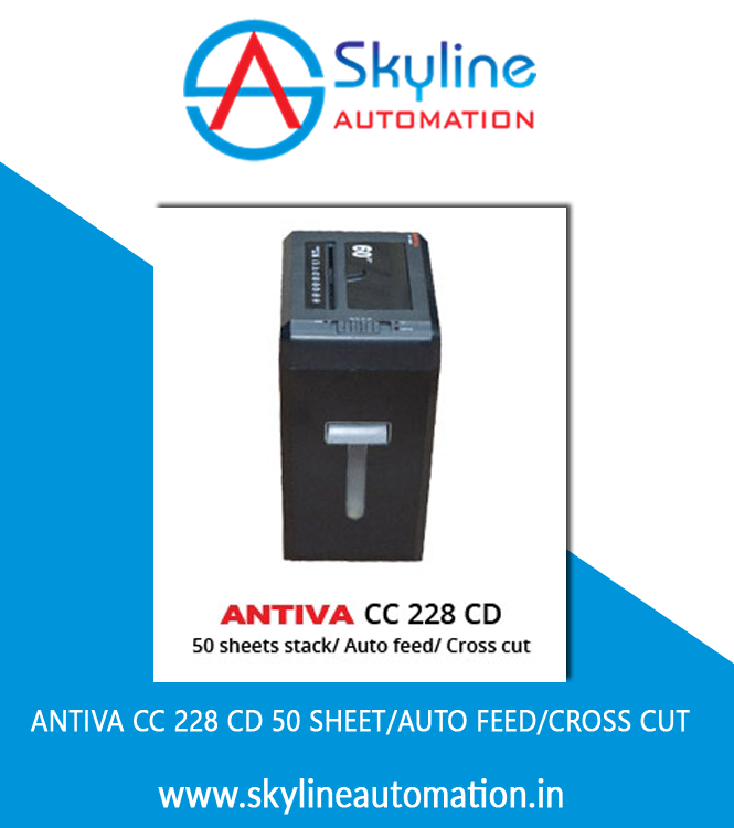 Antiva CC 228 CD 50 Sheet Auto Feed Cross Cut