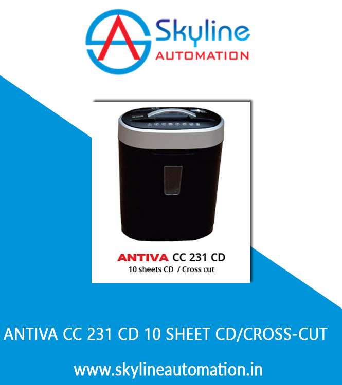 Antiva CC 231 CD 10 Sheet CD Cross-cut