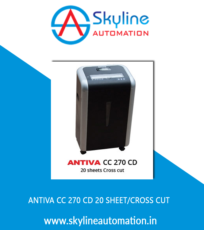 Antiva CC 270 CD 20 Sheet Cross Cut