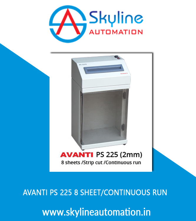 AVANTI PS 225 8 Sheet Continuous Run
