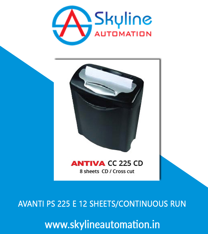AVANTI PS 225 E 12 Sheets Continuous Run