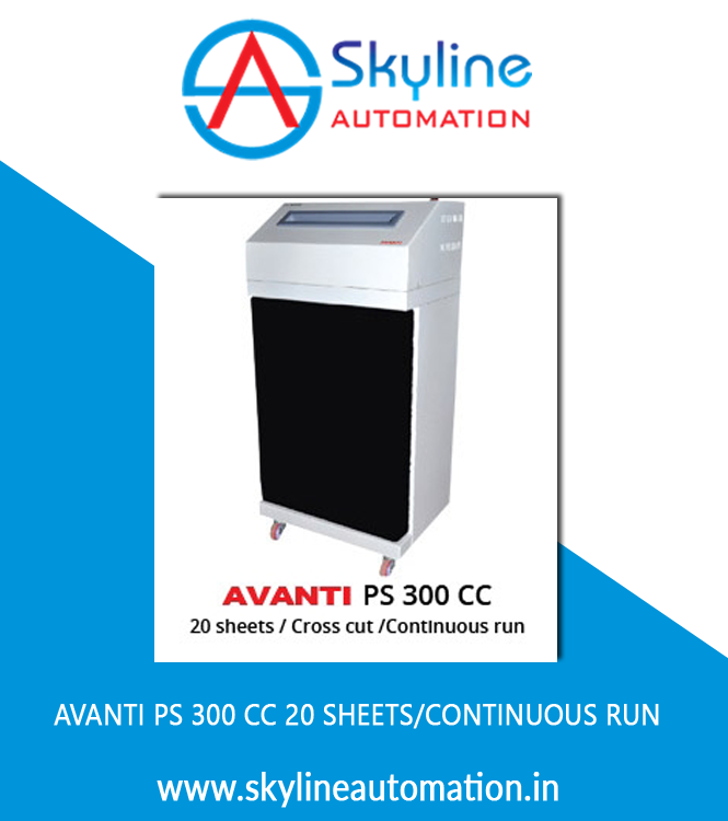 AVANTI PS 300 CC 20 Sheets Continuous Run