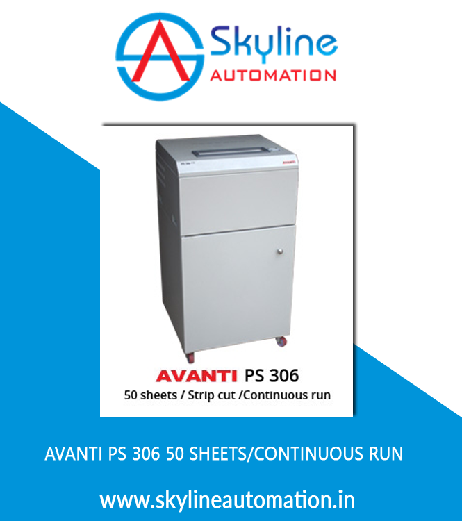 AVANTI PS 306 50 Sheets Continuous Run