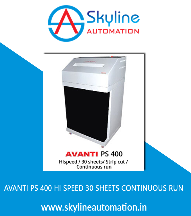 AVANTI PS 400 Hi Speed 30 Sheets Continuous Run