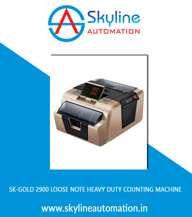 Sk-gold 2900 Loose Note Heavy Duty Counting Machine