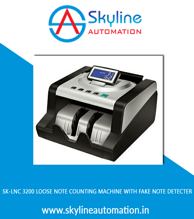 Sk-lnc 3200 Loose Note Counting Machine With Fake Note Detecter