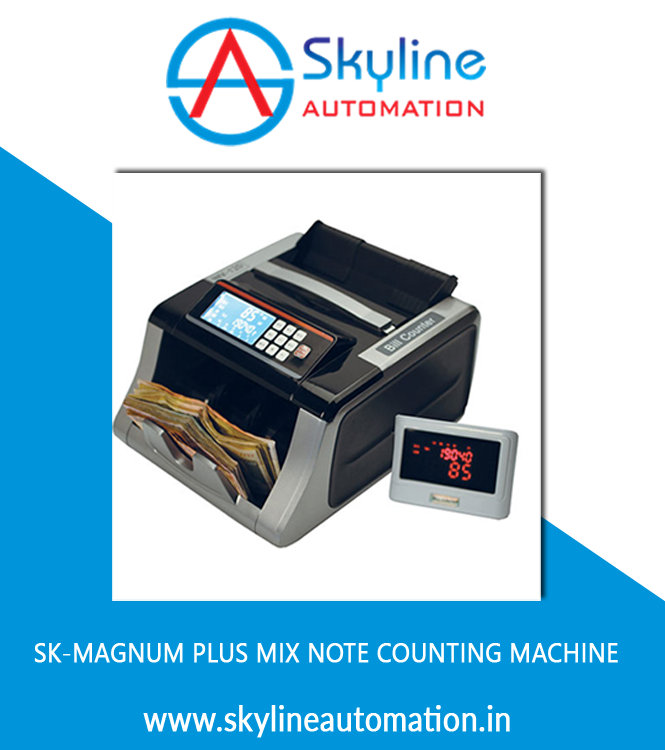 SK-MAGNUM PLUS Mix Note Counting Machine