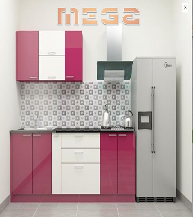 Kitchen Furniture Made Out Of Plywood Pink Kitchen Furniture Made