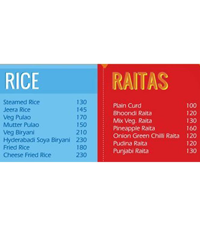 Rice - Dhaba Kulture