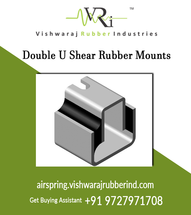 Double U Shear Rubber Mounts
