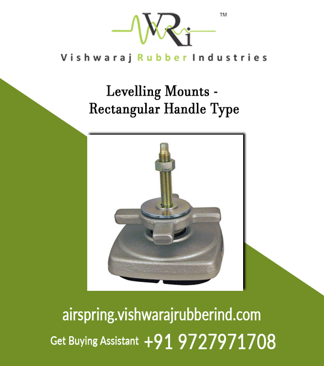 Levelling Mounts - Rectangular Handle Type